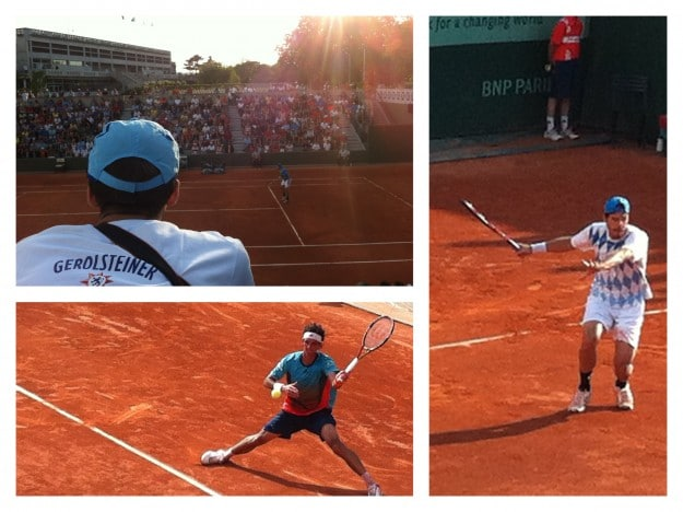 French Open Tag 2 - Tommy Haas und Roger Federer 3