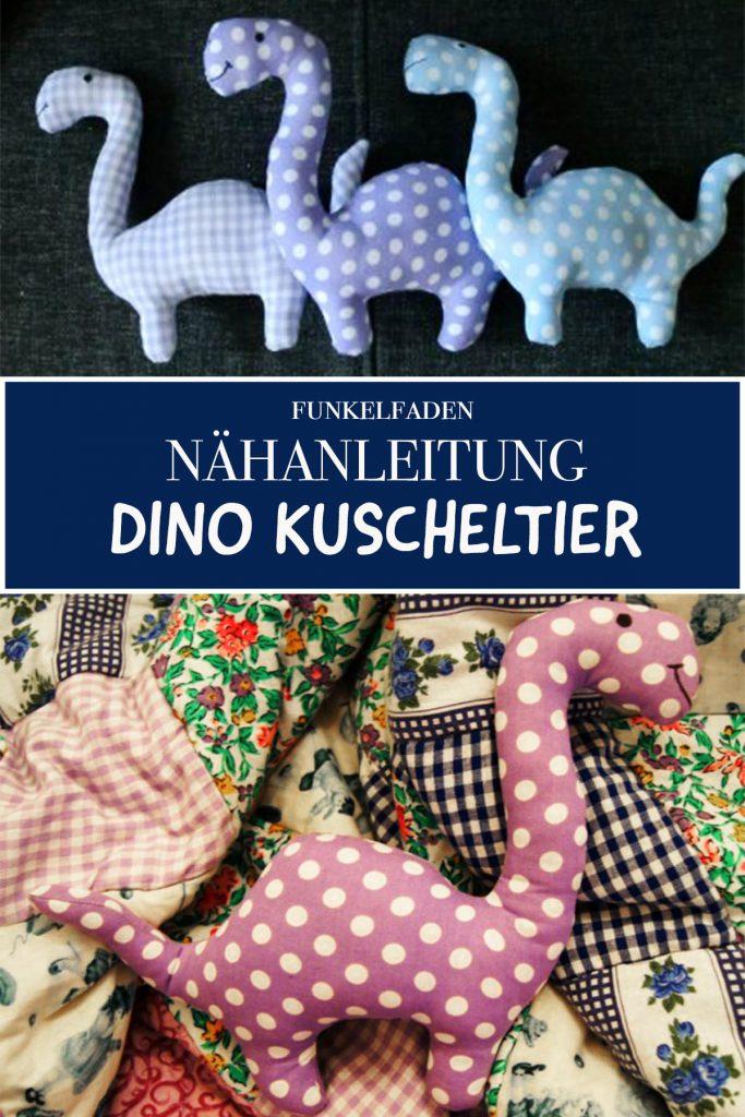 Nähanleitung DIno Kuscheltier