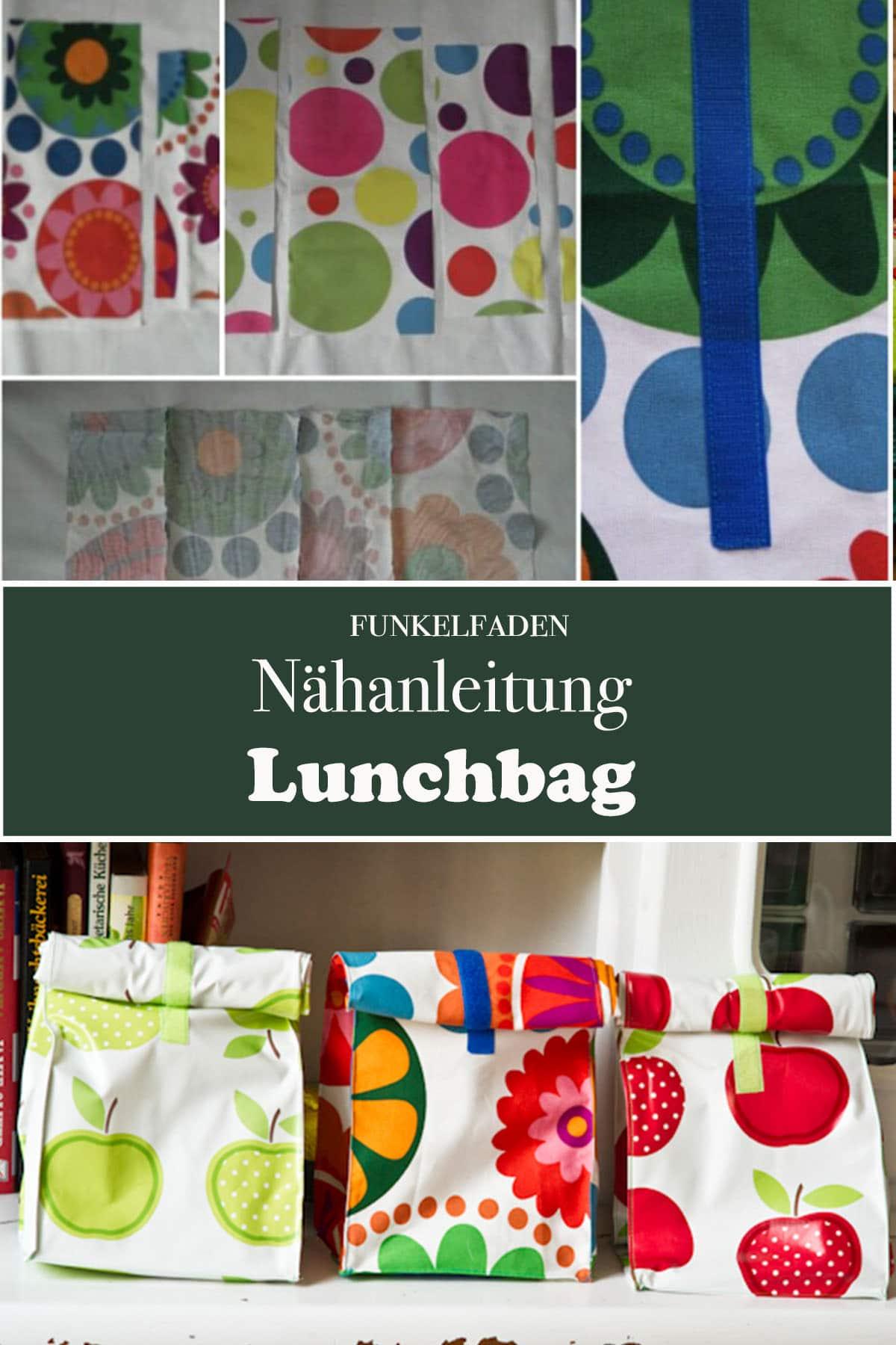 Gratis Nähanleitung Lunchbag Nähen Nähprojekt Für Anfänger