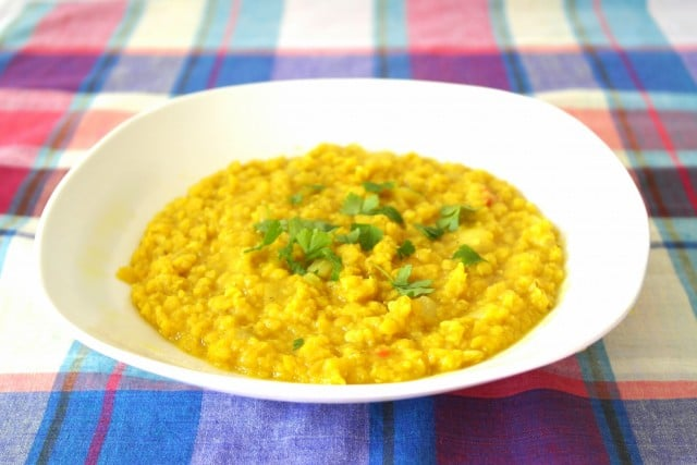 Rezept Dhal Curry - Sri Lanka
