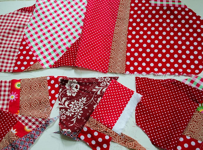 Resteverwertung – Crazy Patchwork Herz nähen › Anleitungen, Do it ...