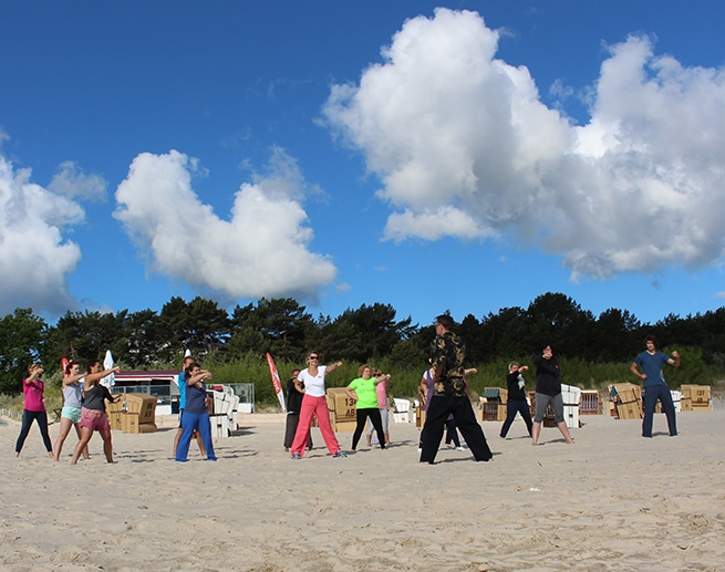 Global Wellness Day Strandhotel Heringsdorf Qi GOng