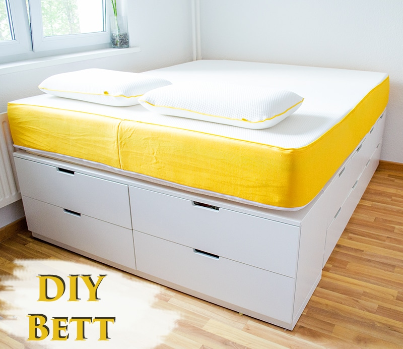 diy ikea hack plattform bett selber bauen aus ikea. Black Bedroom Furniture Sets. Home Design Ideas