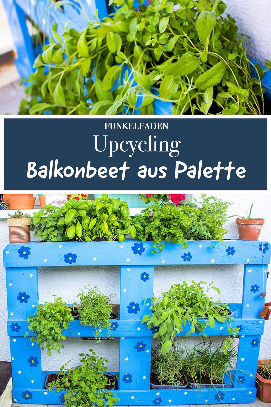 upcycling anleitung balkonbeet aus einer palette bauen anleitungen do it yourself garten. Black Bedroom Furniture Sets. Home Design Ideas