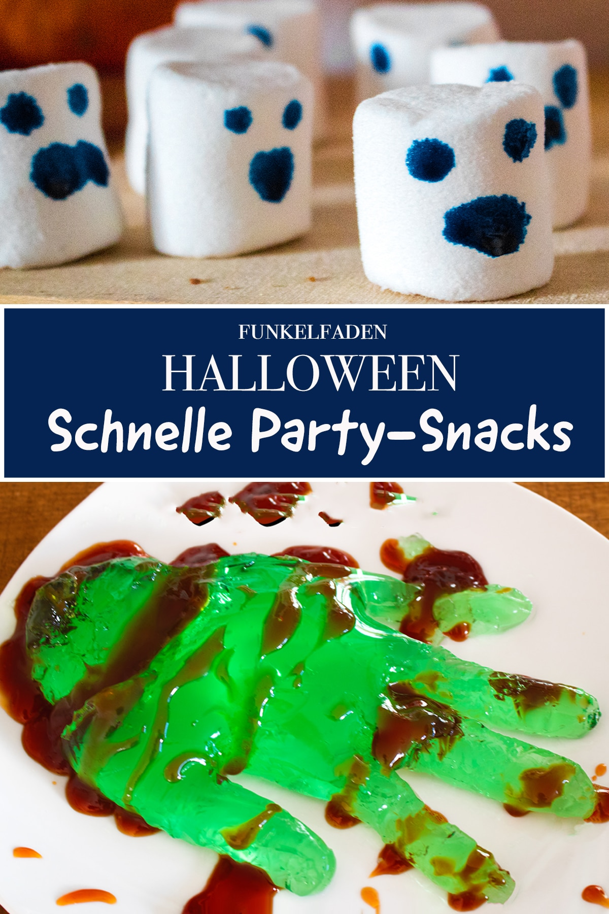 Halloween Party - Schnelle Party Snacks