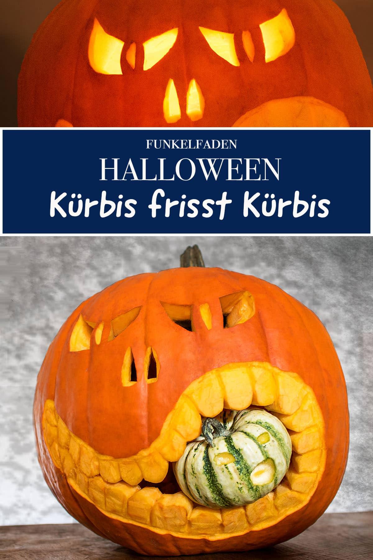 Halloween-Kürbis ganz einfach schnitzen - DIY-Anleitung