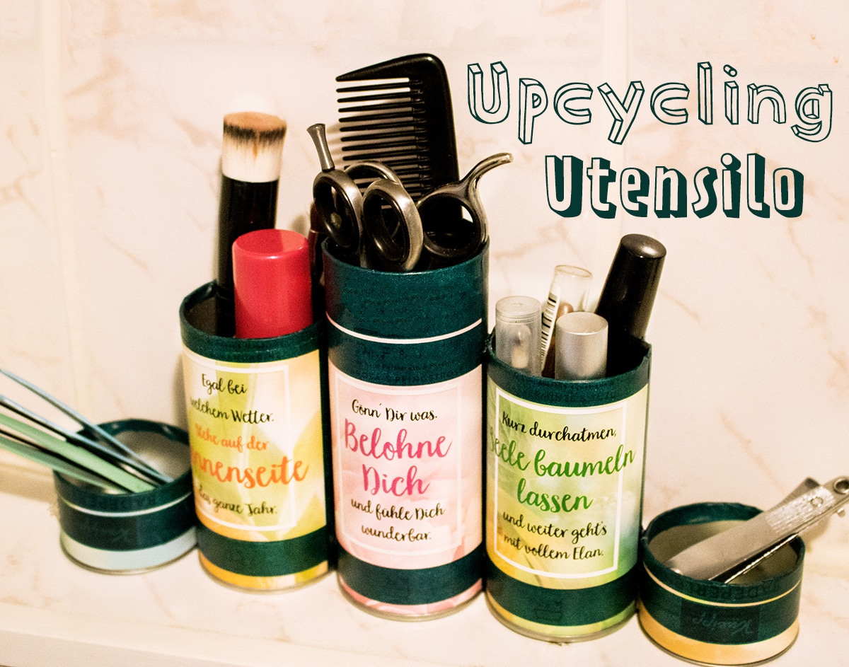 Upcycling Utensilo aus Kneipp Badeperlen