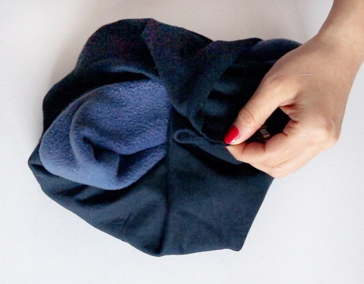 Kostenfreie Nähanleitung Schal für Männer nähen - Freebok 2
