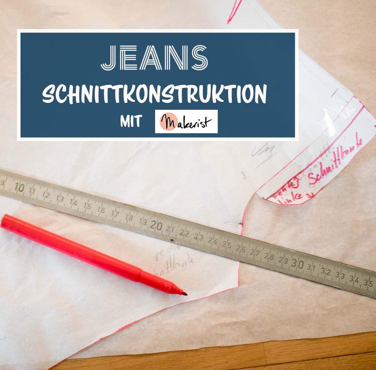 Schnittmuster Konstruieren Jeans
