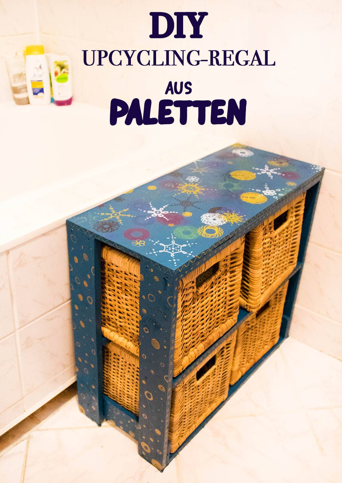 Upcycling Regal Aus Paletten Bauen Do It Yourself Diy Paletten