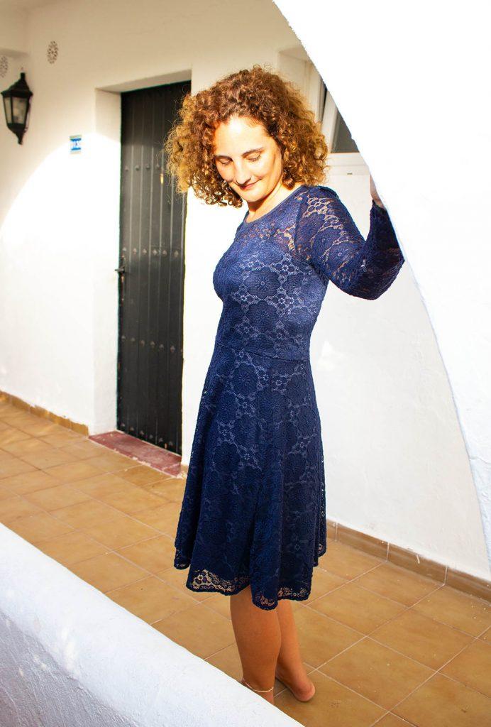 Ella von Pattydoo als Spizenkleid für eine Hochzeit - Nähen für besondere Anlässe