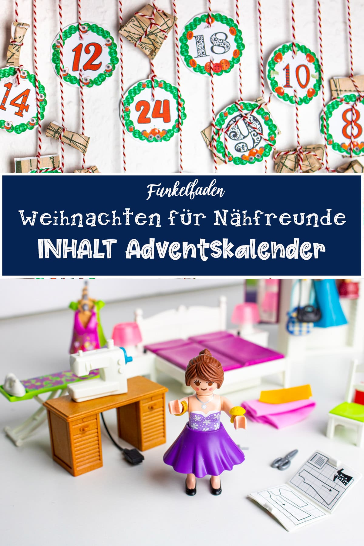 Upcycling Adventskalender aus Toilettenpapierrollen 5
