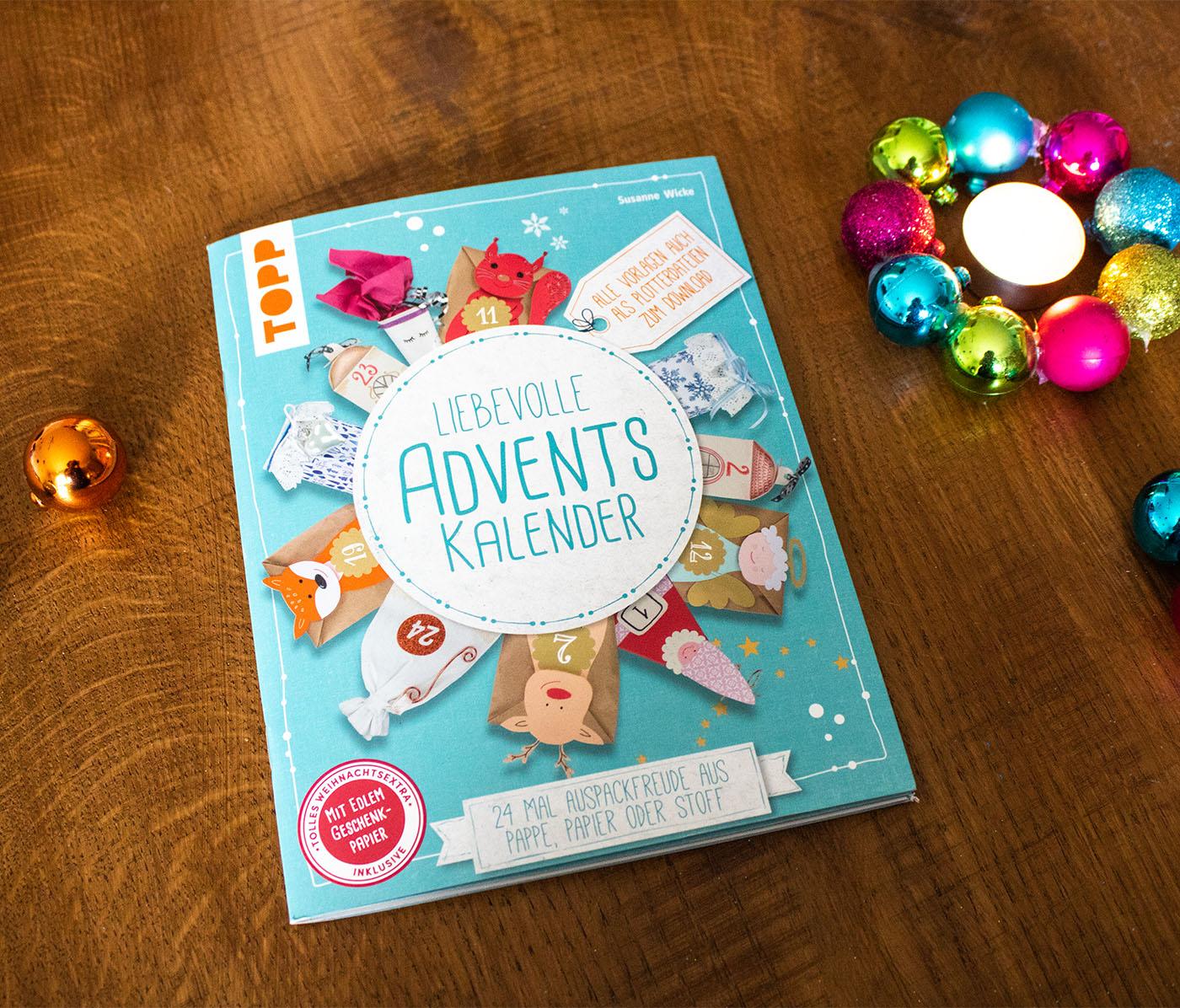 24 liebevolle Adventskalenderideen - Gewinnspiel