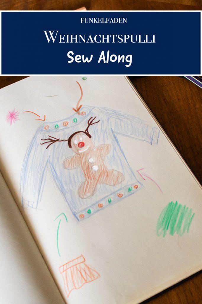 Weihnachtspullover nähen Ideen