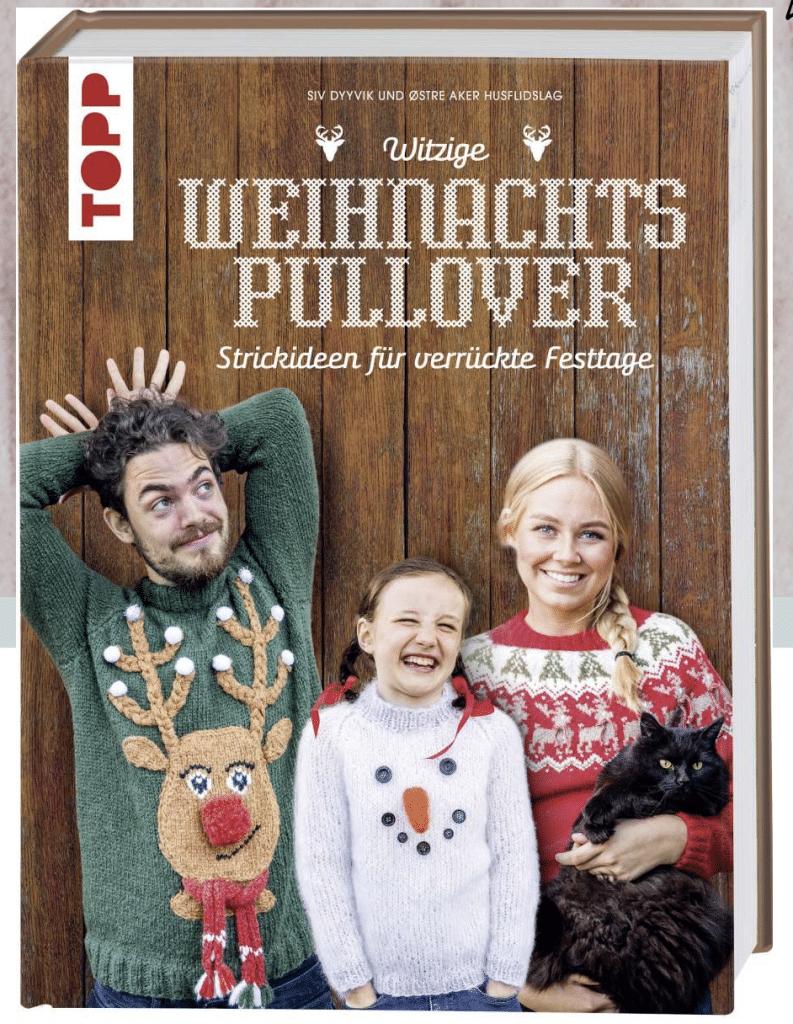 Weihnachtspullover stricken Buch - Geschenkideen Stricken zu Weihnachten