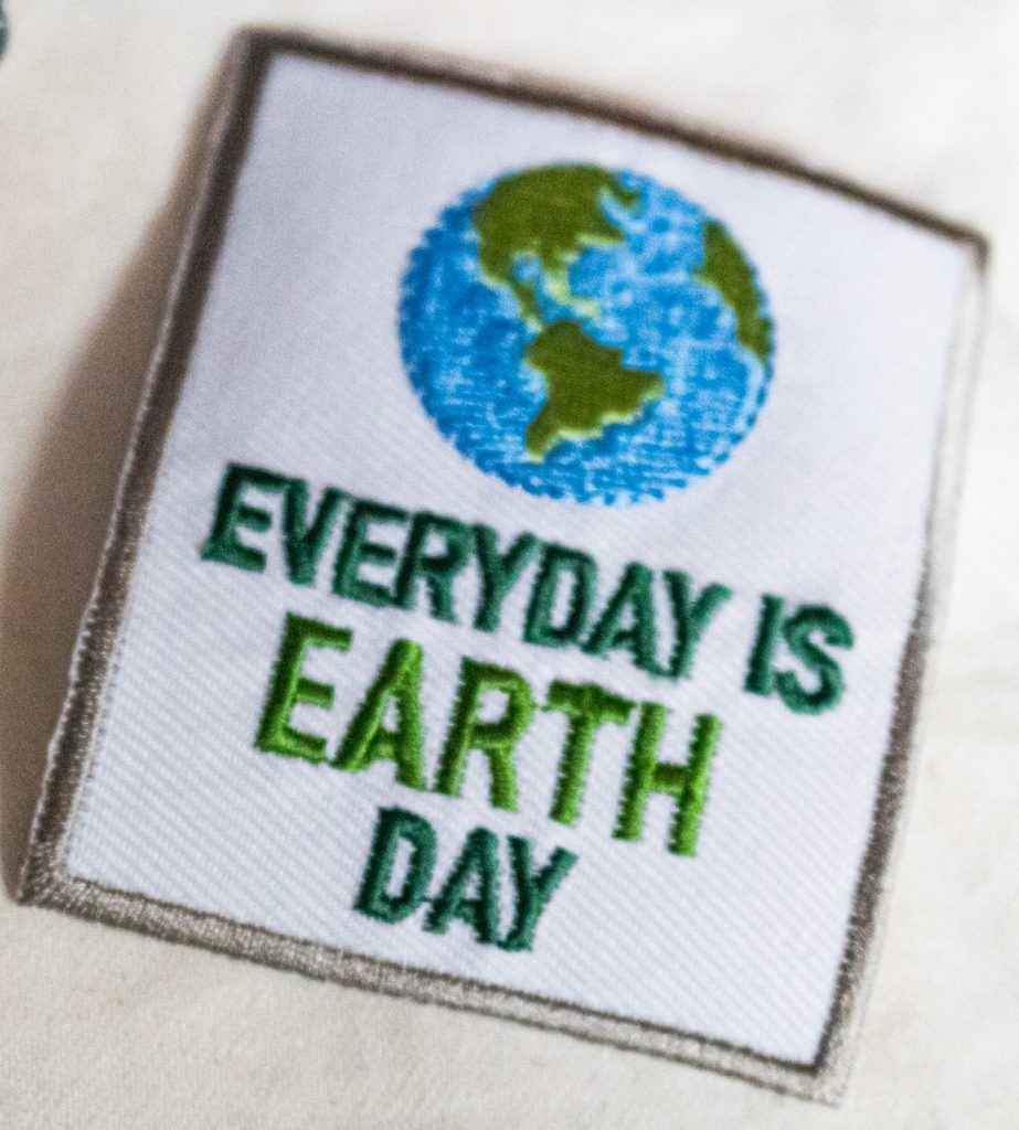 Aufnäher Earth Day