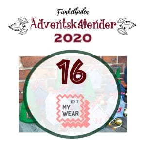 Funkelfaden Adventskalender 2020 Do it my wear 16