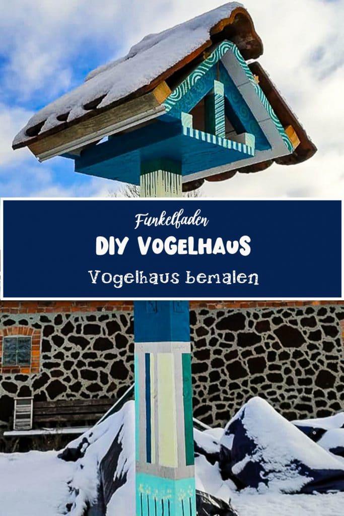 Vogelhaus bauen und bemalen - DIY Vogelhaus