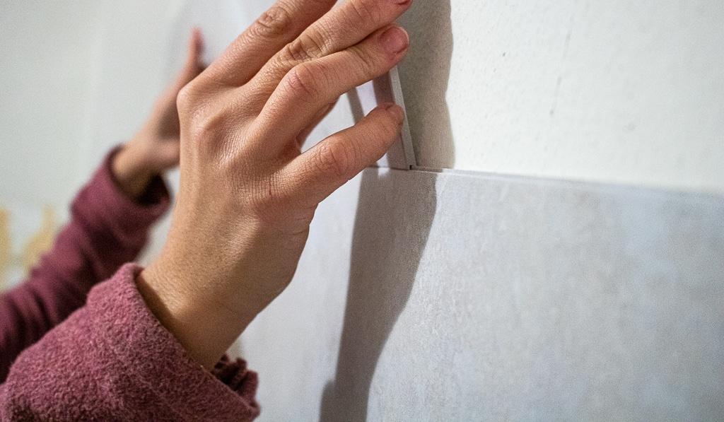 Wand selber fliesen für anfänger-24